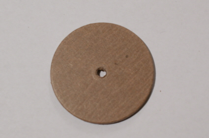 Cardboard DISC FOR Teddy Joints 50 Piece 45 MM-Bears make joint Disc Teddy
