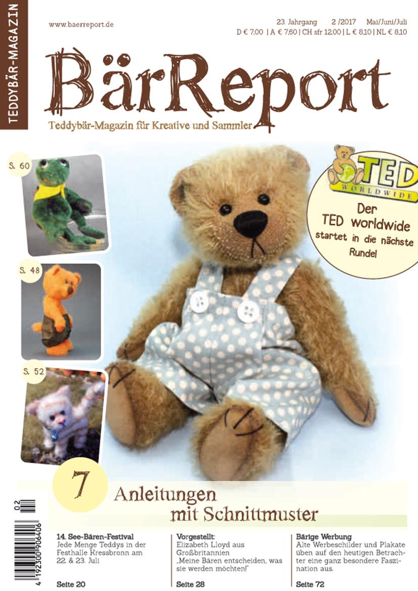 BärReport 2/2017 - das bärige Fachgeschäft von Teddyliebhabern für ...